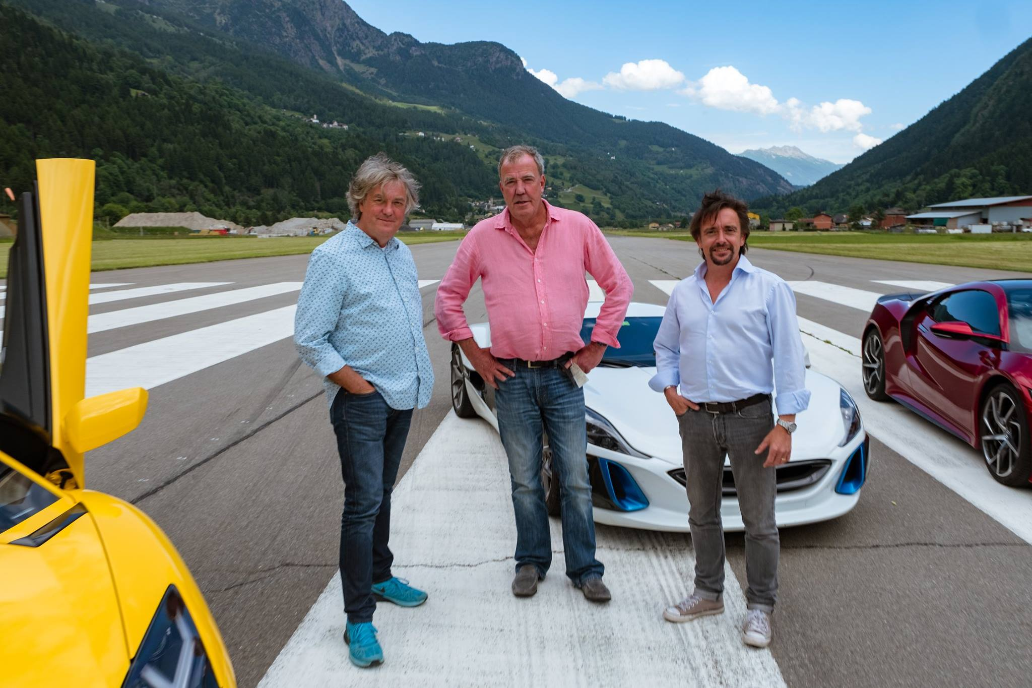 THE GRAND TOUR: LE PREMIER ÉPISODE TOURNÉ EN SUISSE