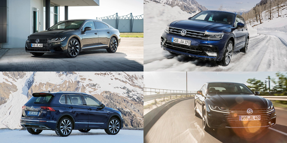 VW: VR6 POUR L'ARTEON R, 5 EN LIGNE POUR LE TIGUAN R
