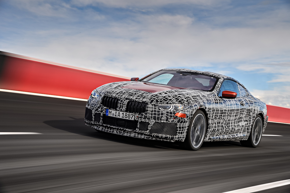 BMW SÉRIE 8: ULTIMES TESTS EN ITALIE