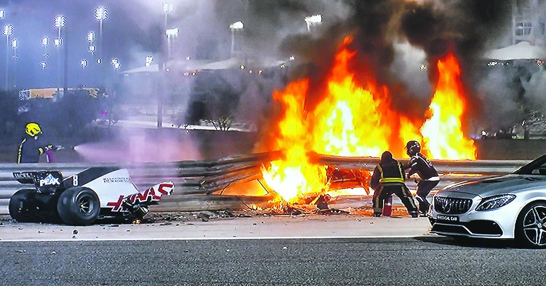 Grosjean, les leçons d'un crash